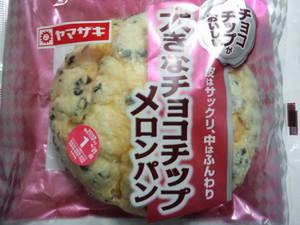 ヤマザキ大きなチョコチップメロンパン.JPG