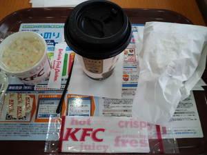 ケンタッキーチキンライスコーヒー.JPG